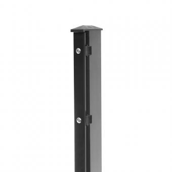 Zaunpfosten Typ 1 anthrazit RAL 7016 | 1430  | Standard