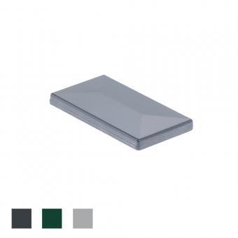 Pfostenkappe 60x40 Aluminium